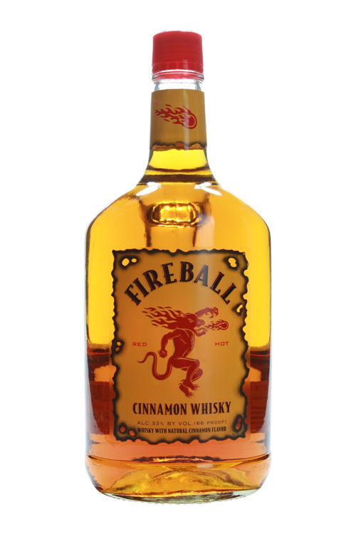 Fireball Whiskey Handle