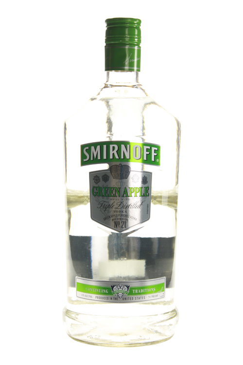 NV Smirnoff Green Apple Vodka
