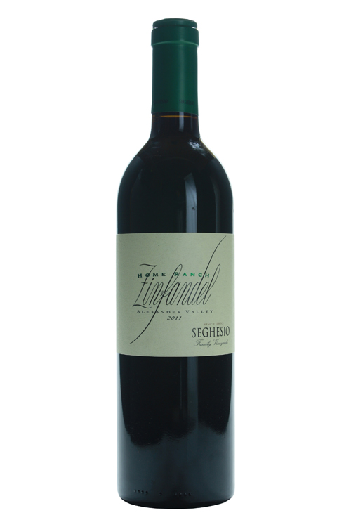 2011Seghesio Home Ranch Sonoma Zinfandel
