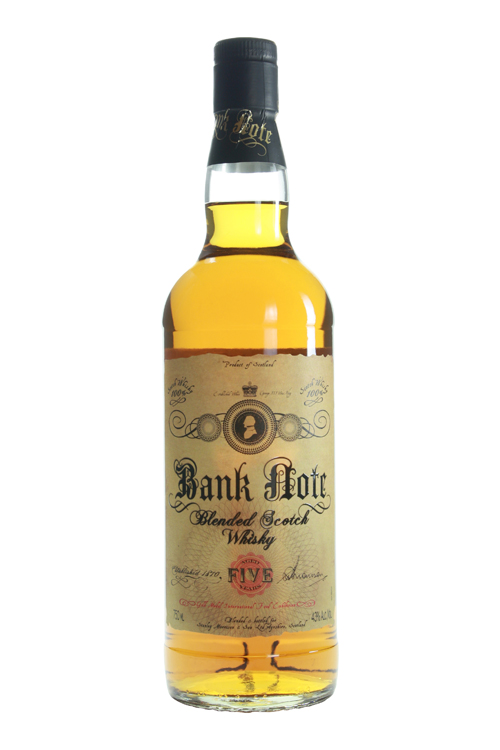 NV Bank Note Blended Scotch Whisky