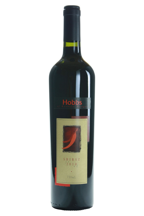 2010Hobbs of Barossa Ranges Shiraz