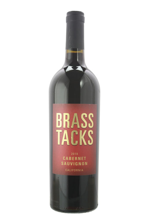 2018Brass Tacks Cabernet Sauvignon