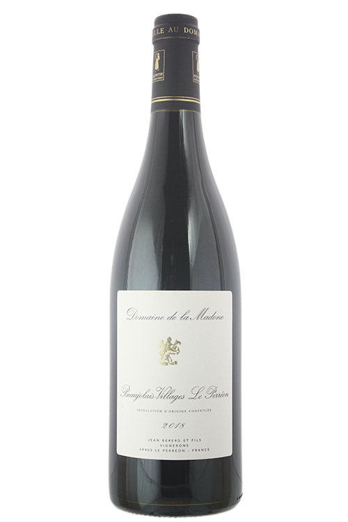 2018la Madone Beaujolais Villages Le Perreon